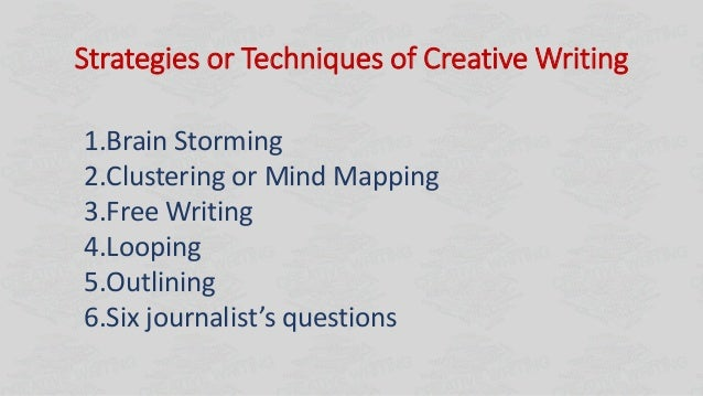 Creative writing methods argument topics for research paper