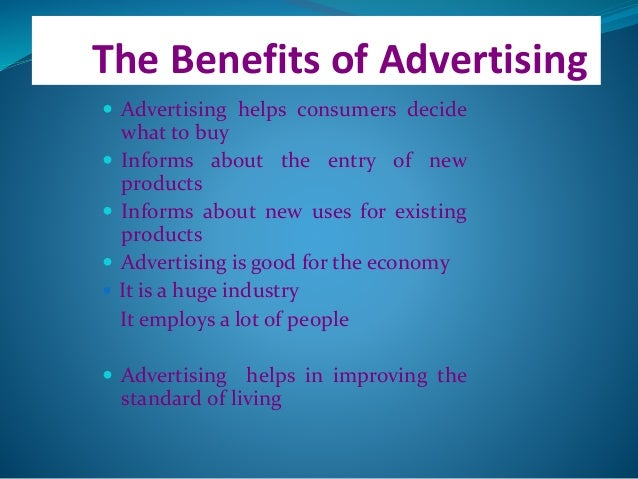 advantages of advertisement We are a full service newspaper marketing agency and digital ad placement service that saves you time and money every step of the way — from market research and proposal development to.