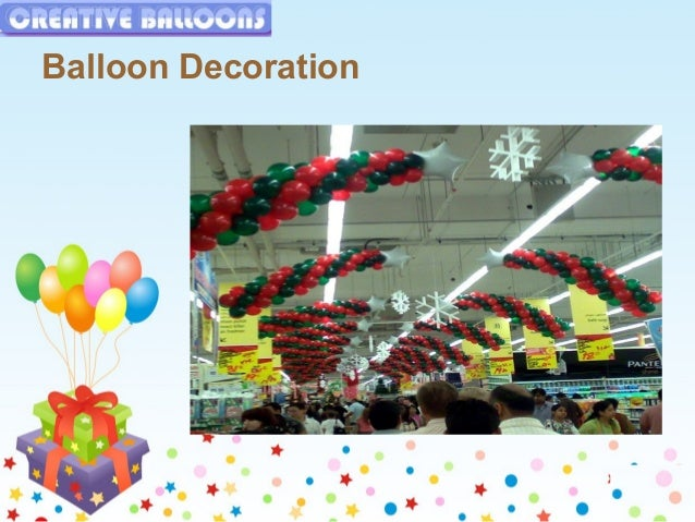 Most balloons decoration for kids birthday party for Balloon decoration for kids