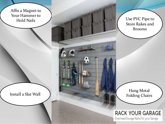 Creative Best Garage Shelving Ideas