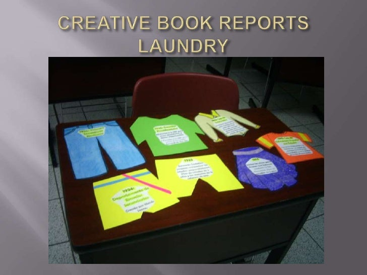 creative book reports Ready-to-go genre book reports  the creative nature of the projects makes them interesting to share in classroom presentations, visual displays, or both.