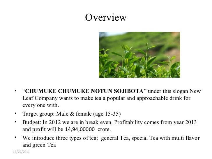 marketing plan of zero degree green tea There is so much interest in weight loss and oolong tea, aka wulong tea, that  we are going to look  the difference in green tea and oolong tea is processing.