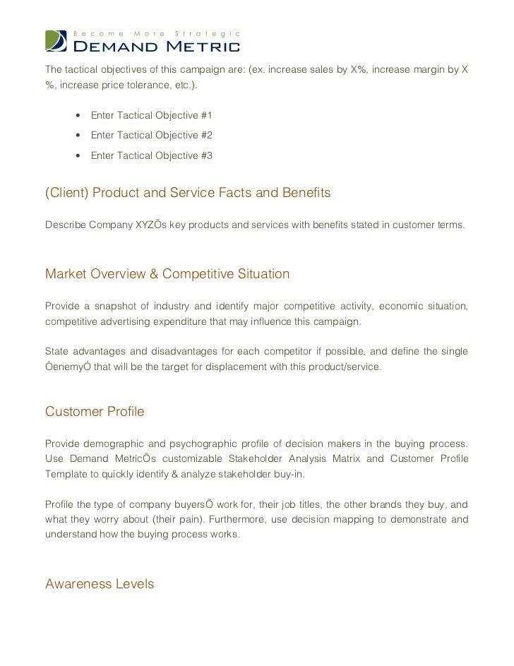 Famous Job Brief Template Mold - Professional Resume Examples ...