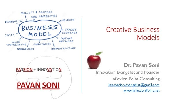 Creative Business Models Dr. Pavan Soni Innovation Evangelist and Founder Inflexion Point Consulting Innovation.evangelist...
