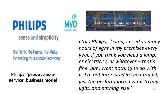 www.PavanSoni.com 80 I told Philips, 'Listen, I need so many hours of light in my premises every year. If you think you ne...