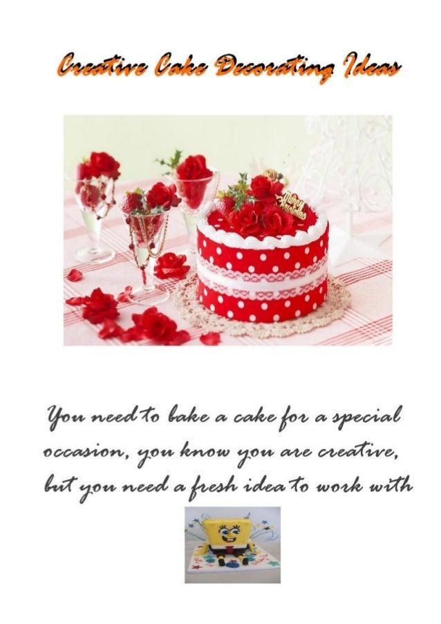 For More Creative Cake Decorating Ideas Click Here : http://tinyurl.com/q2bunbd