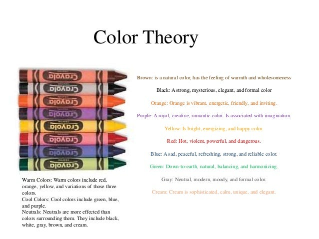 Color Theory ...