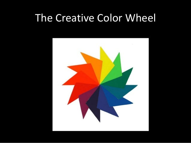 Creative Color Wheel Alluring Creative Color Wheel Inspiration Design
