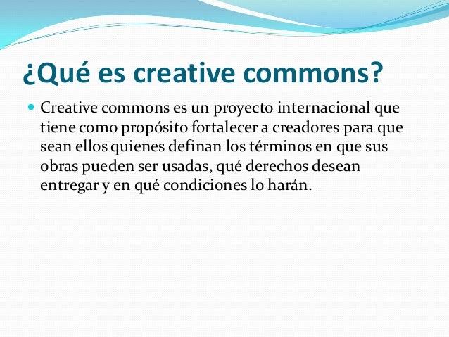 Creative commons Slide 2