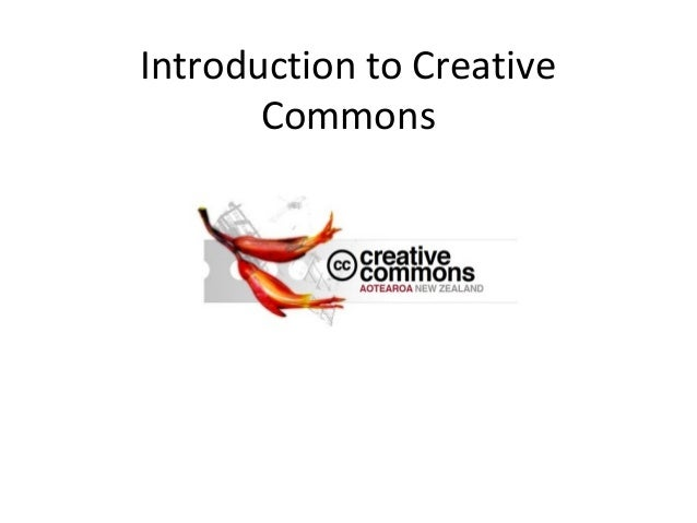 Introduction to Creative       Commons