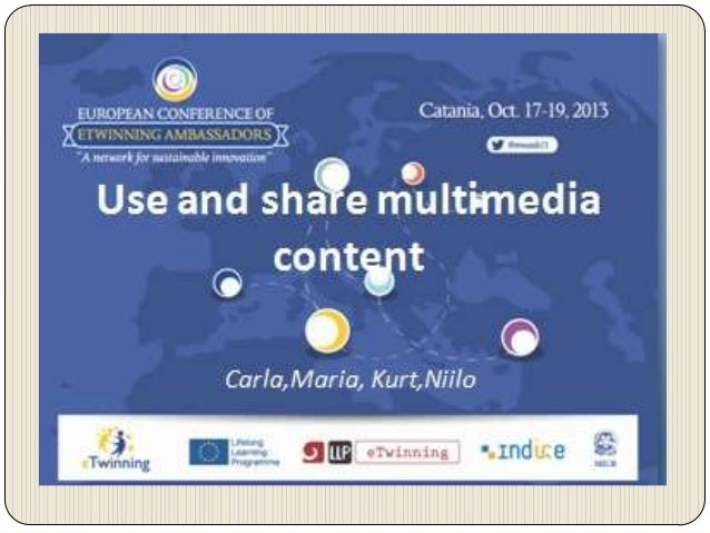 eTwinning is based on collaboration through ICT tools.