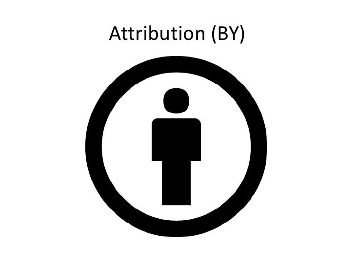 Creative commons license ppt. Slide 2