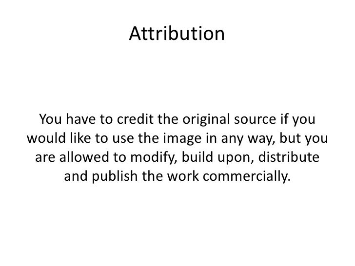 Creative commons license ppt. Slide 3