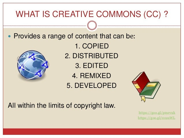 Creative Commons License and how to do a good presentation