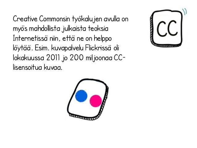 Creative commons lisenssit Slide 3
