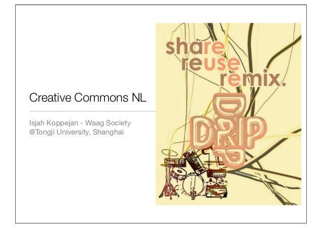 Creative Commons NLIsjah Koppejan - Waag Society@Tongji University, Shanghai
