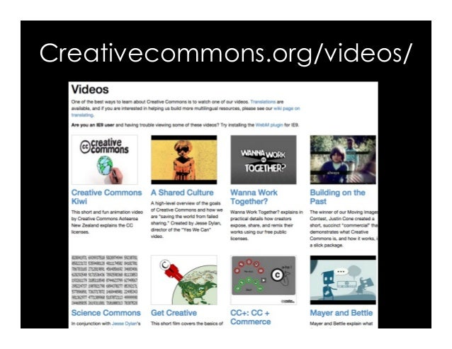 Creativecommons.org/videos/