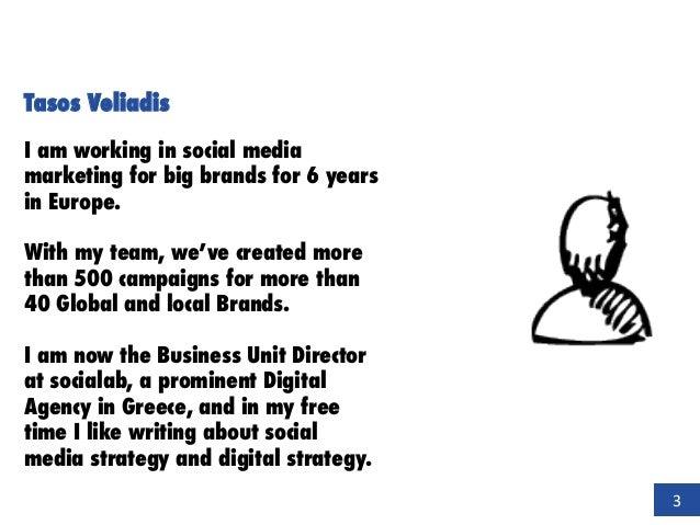 Social media + creative content = BRAND LOVE Tasos Veliadis I am working in social media marketing for big brands for 6 ye...