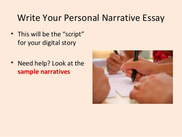 example of personal narrative essay Personal narrative paper the following is an example of an 8th grade paper that asked students to write a personal.