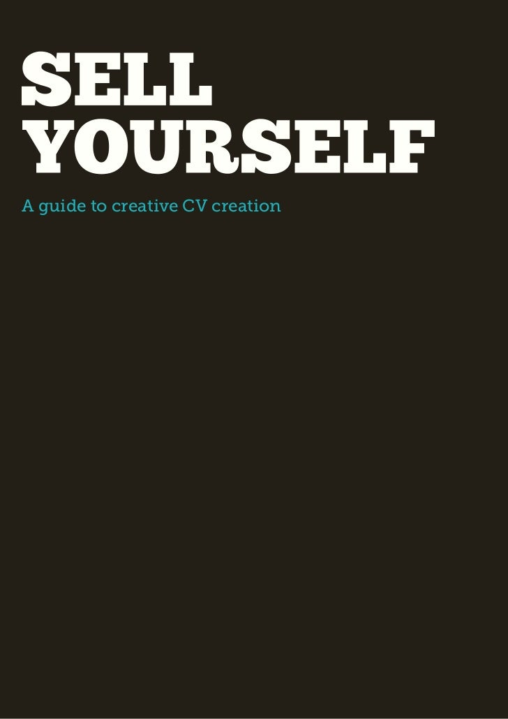 A guide to creative CV creation