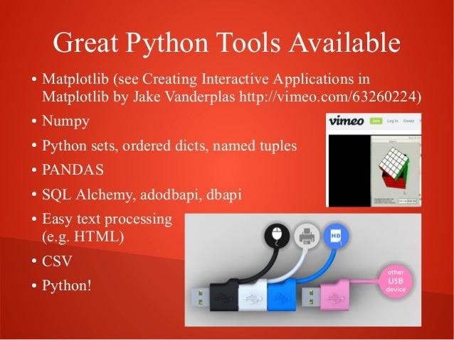 Creative Data Analysis with Python Slide 2