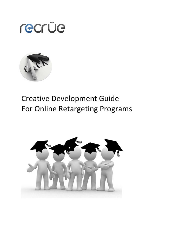Creative Development Guide For Online Retargeting Programs