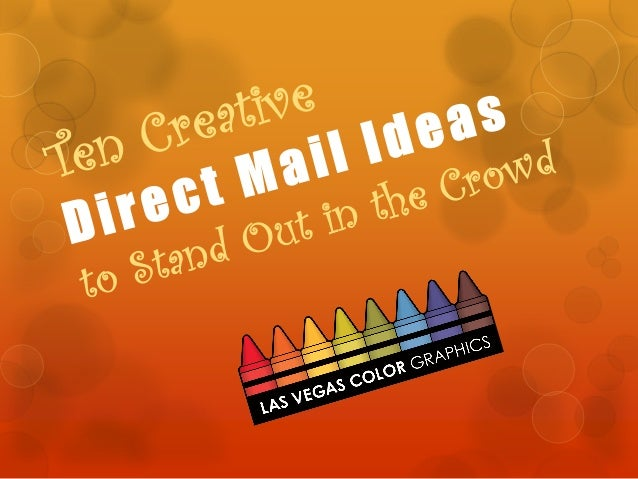 Creative Direct Mail Ideas to Make your Mailer Stand Out