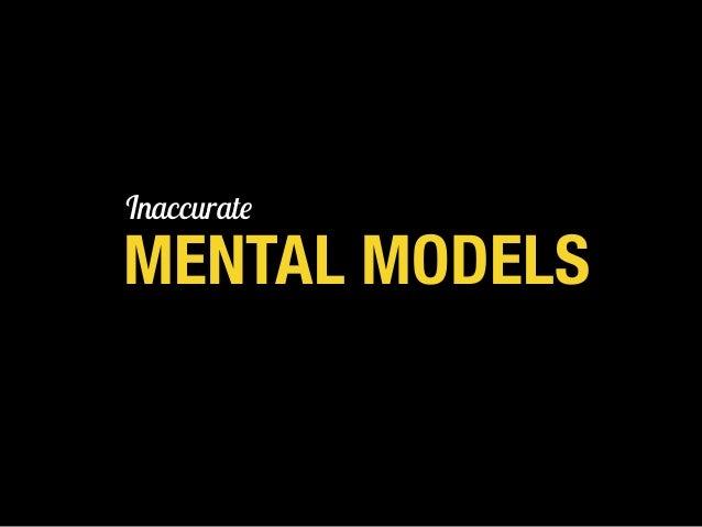 MENTAL MODELS TRADITIONAL MODEL Based on the talent myth