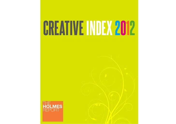 CREATIVE INDEX 2012