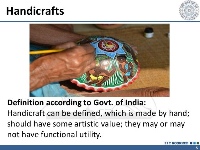 Creative Industries And Handicraftrs