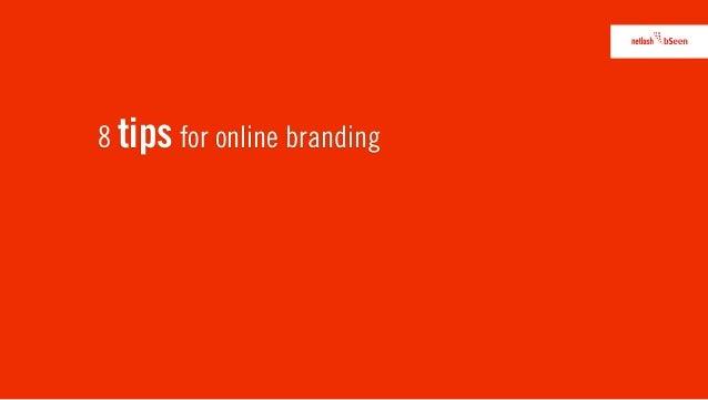 8 tips for online branding