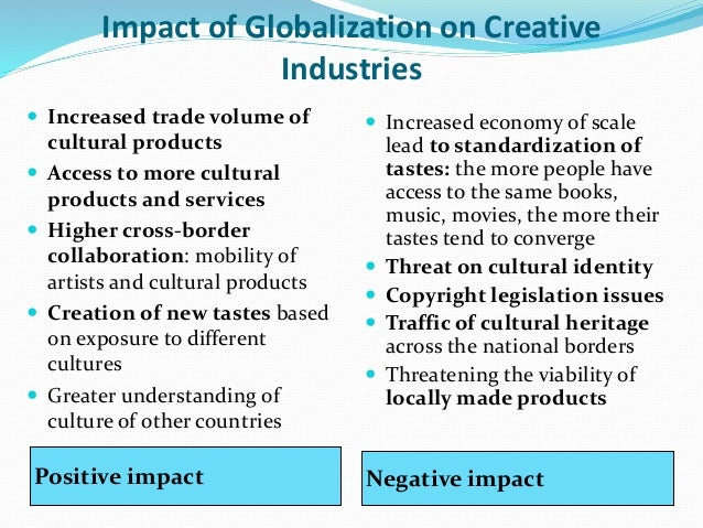 cultural industries and globalisation Cultural globalization and the dominance of the american film industry: cultural policies, national film industries, and transnational film.