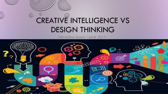 Creative intelligence vs design thinking for Waterfall vs design thinking