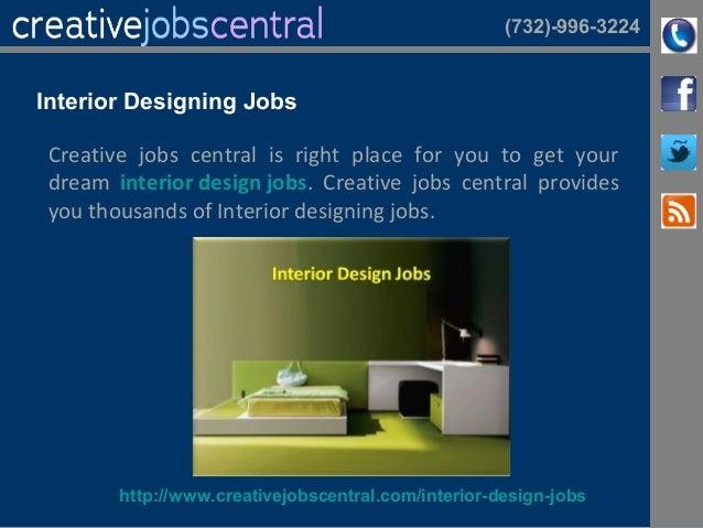 6 732 996 3224 Interior Designing Jobs