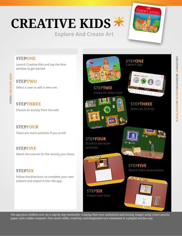 Creative Kids App Tutorial