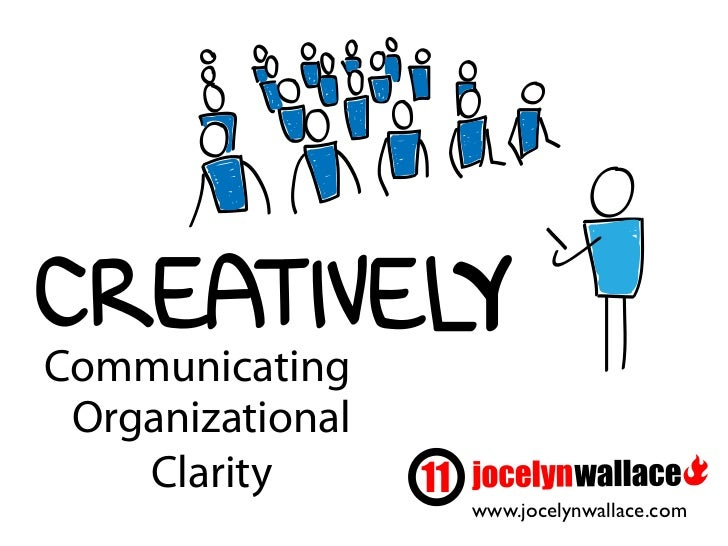 Communicating Organizational    Clarity                  www.jocelynwallace.com