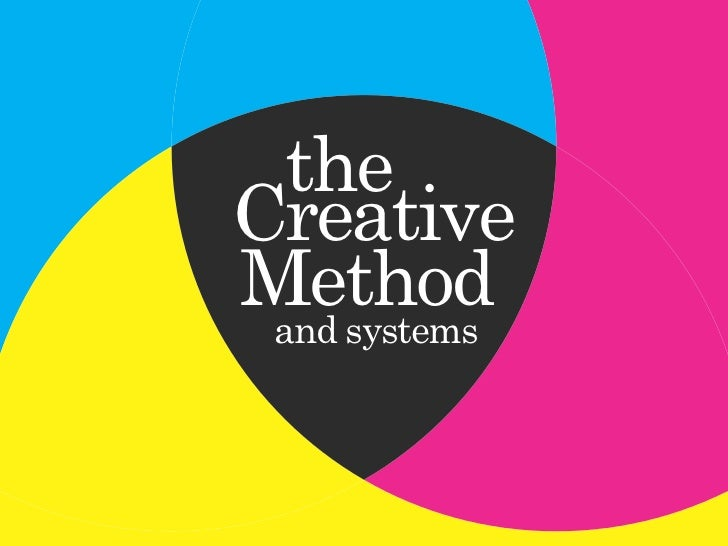 the Creative Method  and systems