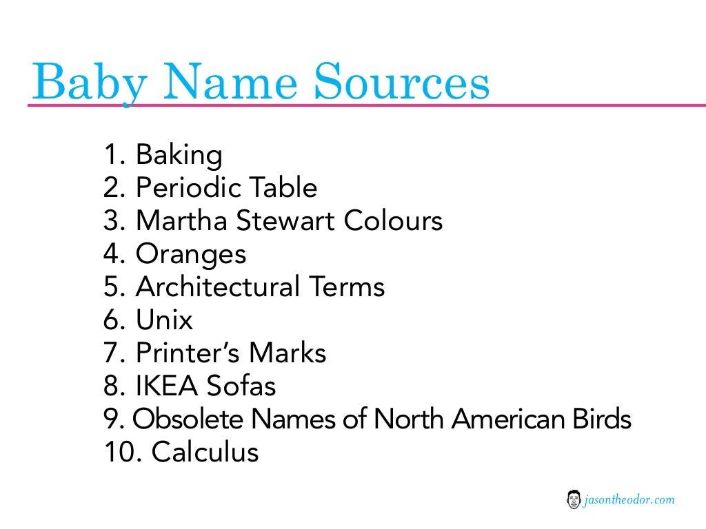 Baby name sources 1 baking urtaz Images