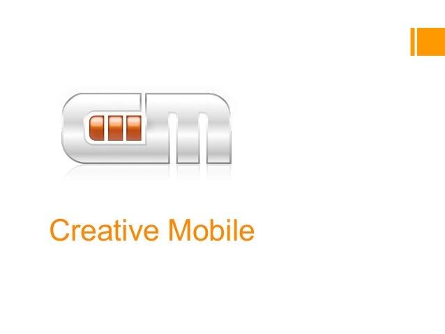 Creative MobileCompany introVladimir Funtikov, co-founder