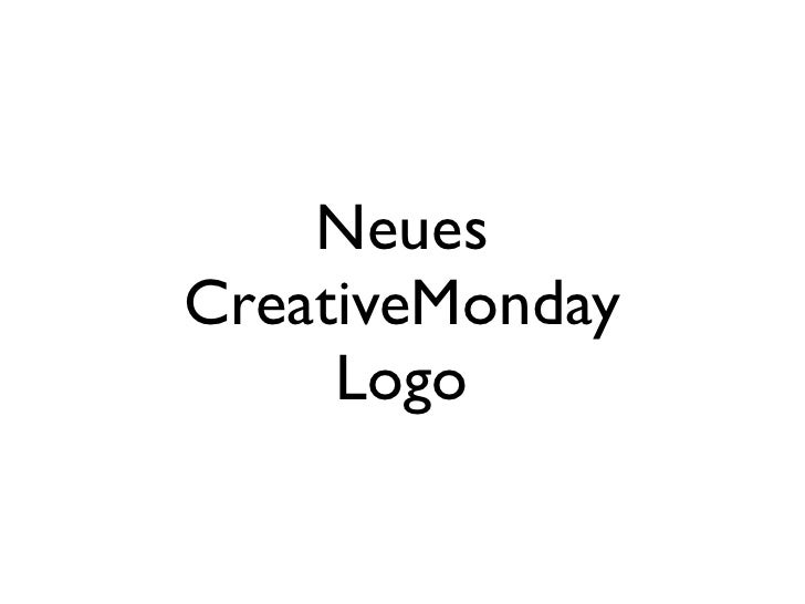 NeuesCreativeMonday     Logo