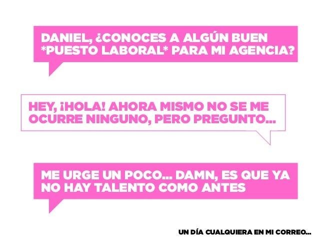 La tierna protesta de los Misfits (Creative Mornings Mexico City) Slide 3