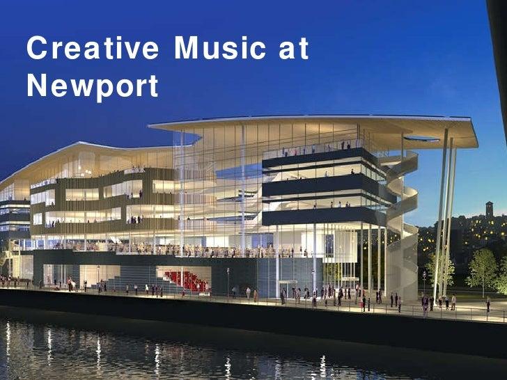 Creative Music at Newport