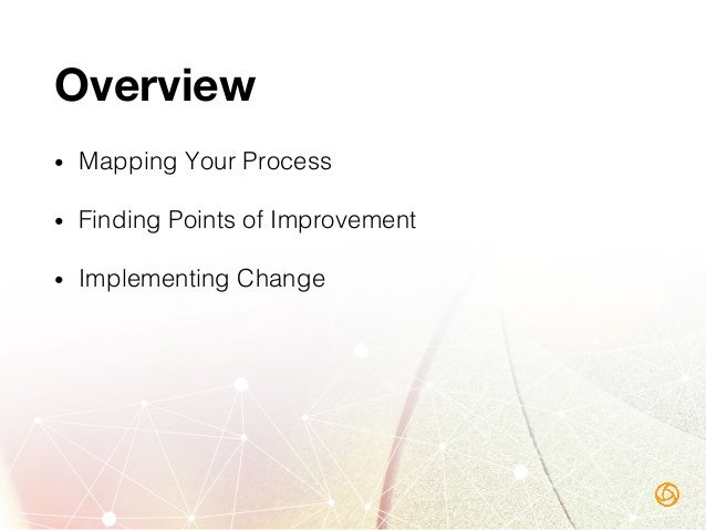 1. Mapping Your Process