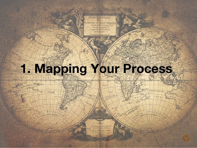 Why Map? • Visualize a complex process! • To clearly communicate it to all team members! • It's a way to help everyone ...