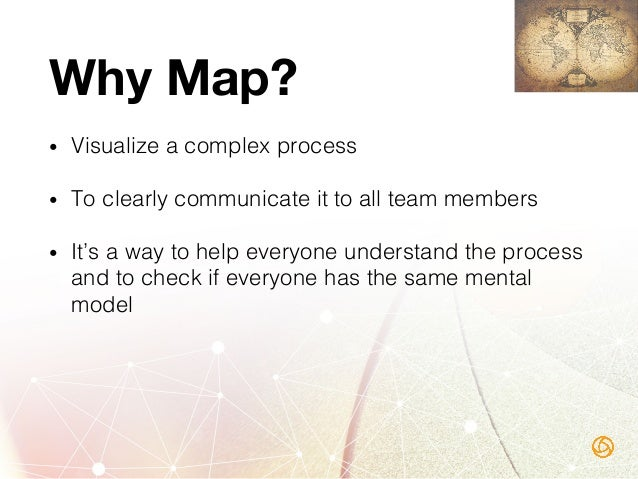 Mapping Benefits • Inefficiencies and problems become obvious! • Quickly spot patterns in usage! • Great tool for trainin...