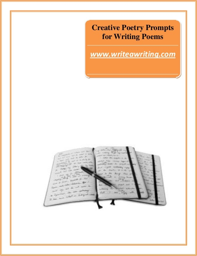 Creative topics to write a poem about