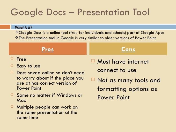 creative presentation tools