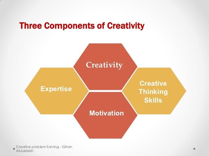 Three Components of Creativity                                   Creativity                                               ...