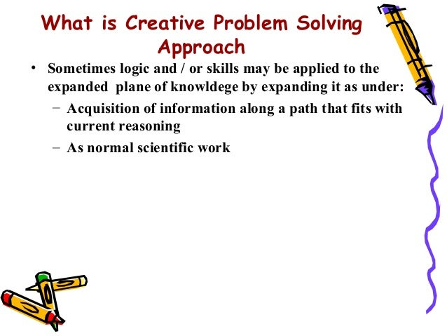 what is creative problem solving