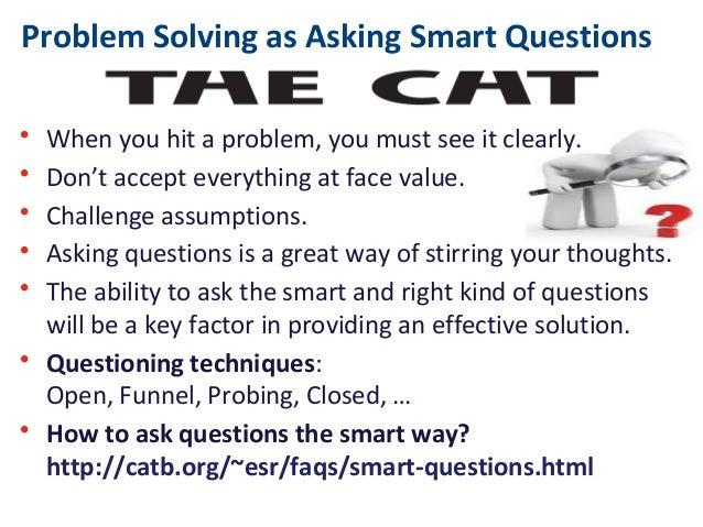 interview questions problem solving skills